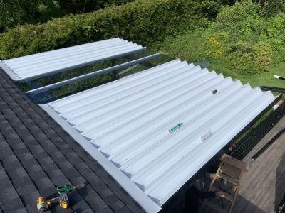 Aluminum Cover With Skylights (5)