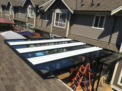 Aluminum Cover With Skylights (8)